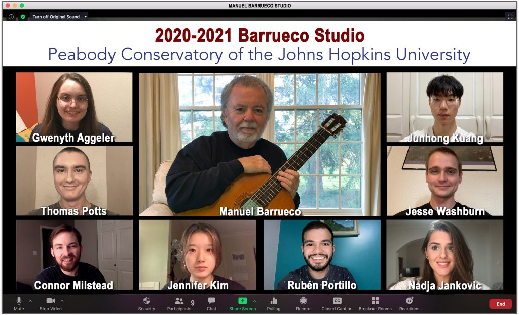 2020-2021 Barrueco Studio